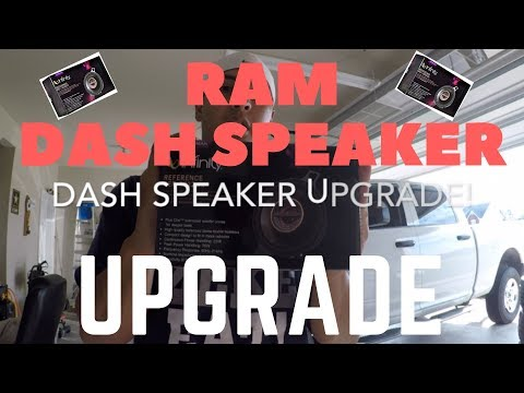Ram 1500/2500/3500 Dash Speaker Upgrade