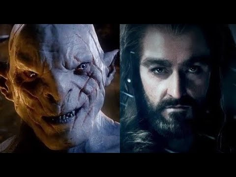 AZOG* The Defiler- Bad Blood w/Thorin- The Hobbit