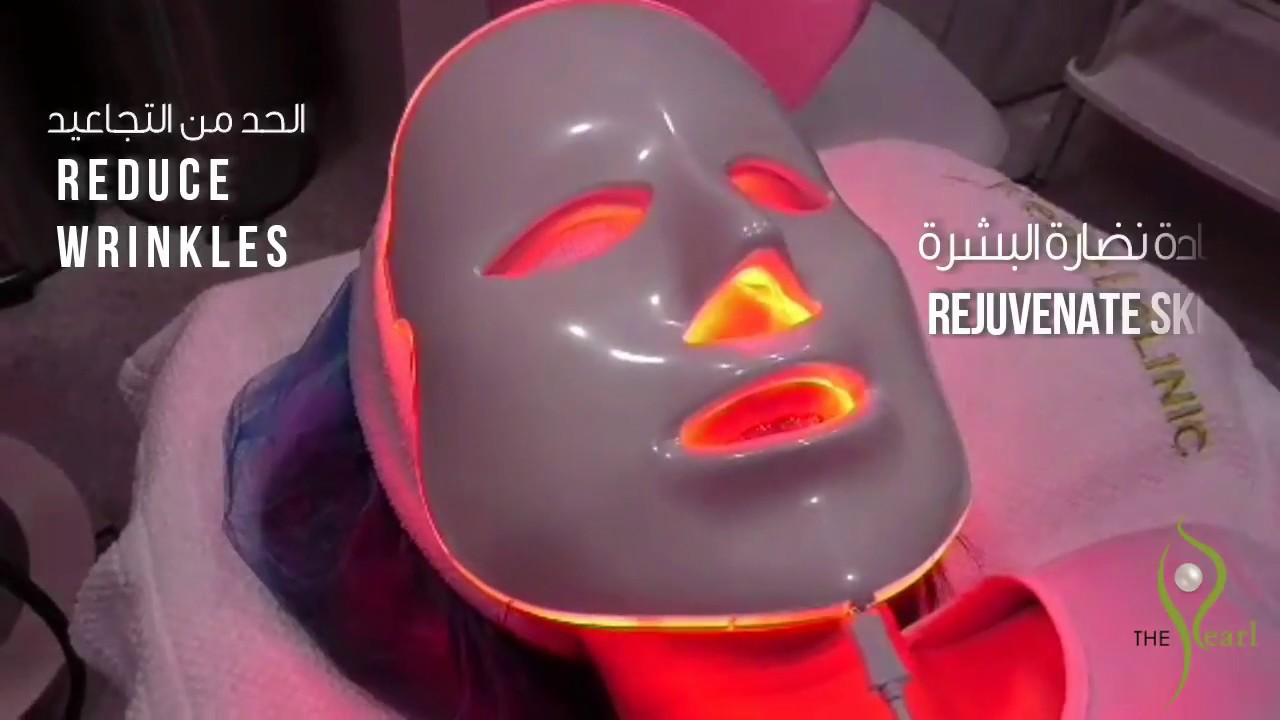 LATEST : LED Mask available at The Pearl Dermatology and Laser Centre