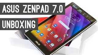 ASUS ZenPad C 7.0 Unboxing and Hands On Video