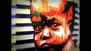 рисование скотчем (граффити и стрит-арт) видео-урок(мастер-класс по созданию картин из цветного упаковочного скотча художник Николай Васильев, портрет, 100х70с..., 2012-12-17T20:07:40.000Z)