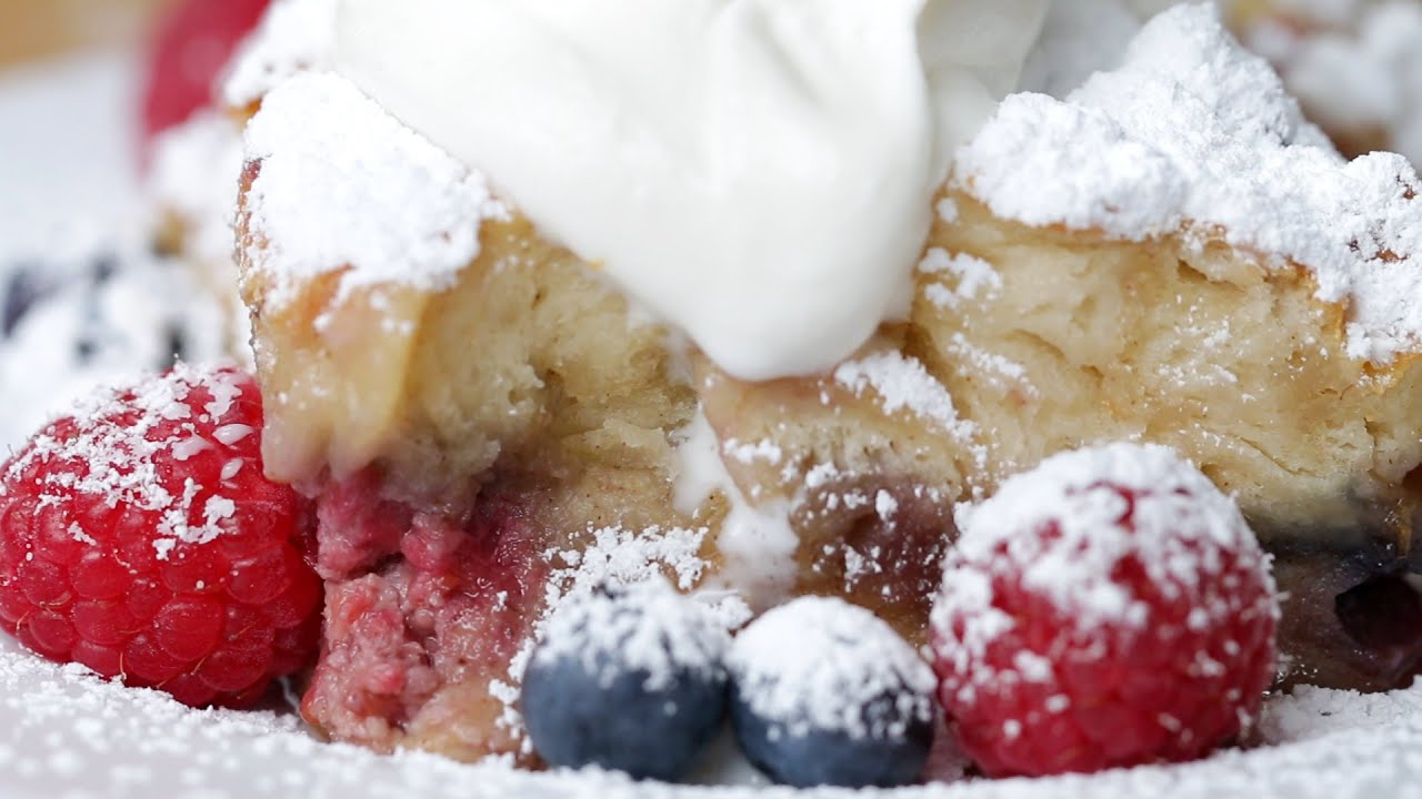 berries and cream french toast