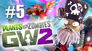 КАПИТАН БОРОДА! #5 Plants vs Zombies: Garden Warfare 2 (HD) играем первыми
