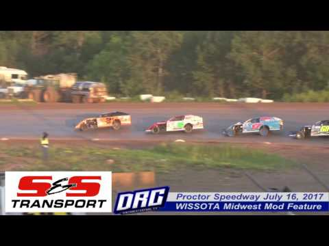 Proctor Speedway 7/16/17 WISSOTA Midwest Mod Finish