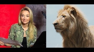 """Martyna Wojciechowska i bliskie spotkania z lwami w filmie """"Mia i biały lew"""""""