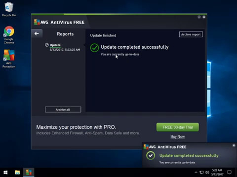 How To Update Your AVG Anti-Virus Manually