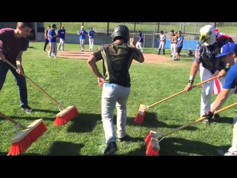 Mt  Shasta High School Baseball Running Man Challenge
