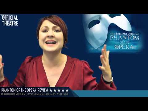 Phantom of the Opera Theatre Review London *****