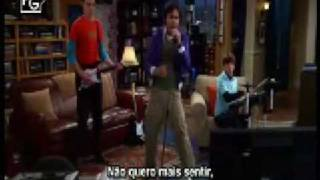 "TBBT - "" Raj singing, Sheldon on Guitar and Howard on Drums"""