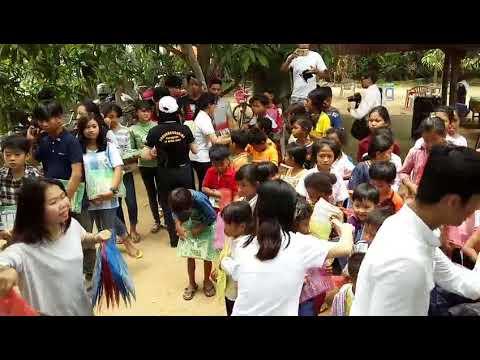 Gold Zone Media Charity Event at Khmer Artist For Children Organization