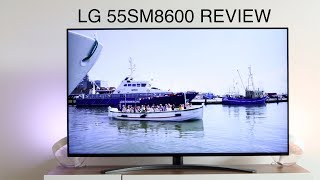 lG 55SM8600 2019 LG NanoCell 4K TV REVIEW by TechCentury with Amazon Alexa & Google Assistant