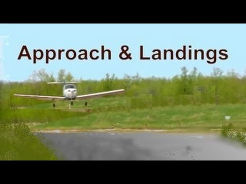 Flight Training Manual Lesson #8: Approach & Landings