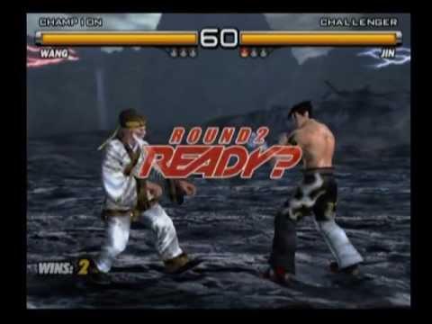 Tekken 5 Wang vs Jin
