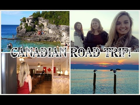 🚗 ROAD TRIP - GODERICH, SAUBLE BEACH, GRAND BEND BEACH, BRUCE PENINSULA NATIONAL PARK 🇨🇦