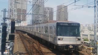 2019.5.6東京メトロ日比谷線03系南千住駅到着