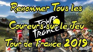 AVOIR TOUS LES VRAIS NOMS SUR TOUR DE FRANCE 2019 [PS4/XBOX]