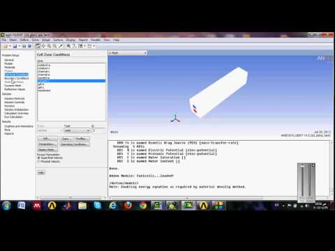 PEM Fuel cell simulation using ANSYS FLUENT 14.0