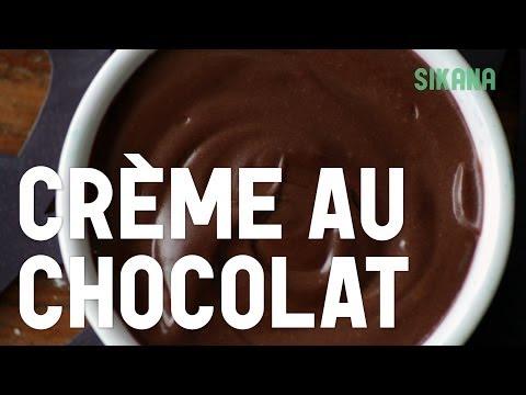 Crème Au Chocolat   Préparez vos desserts maison