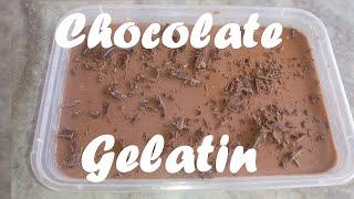 Chocolate Gelatin__Kitchen Channel