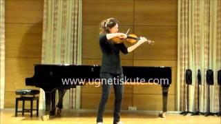 Henri Vieuxtemps Caprice C minor  - Ugne  Tiskute