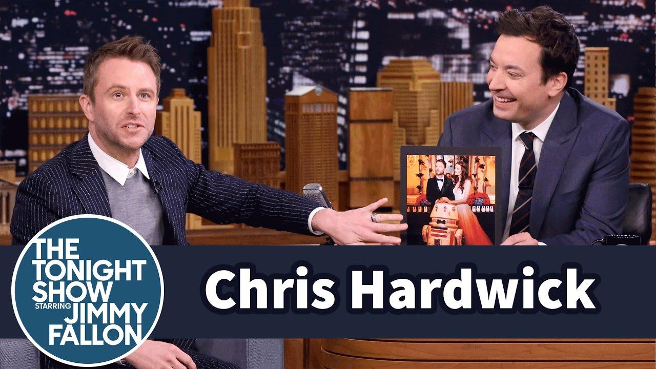 Chris Hardwick Wrestled Star Wars Jawas at His Wedding YouTube