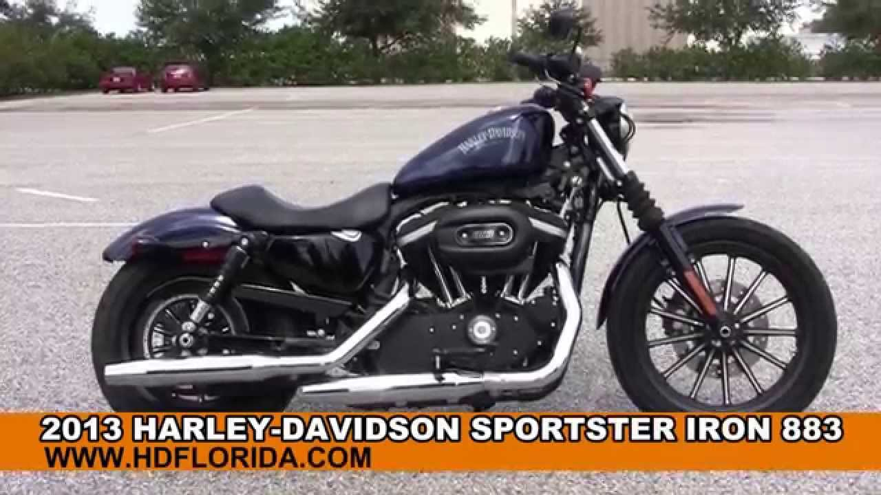 Used 2013 Harley Davidson Sportster Iron 883 Motorcycles for sale ...