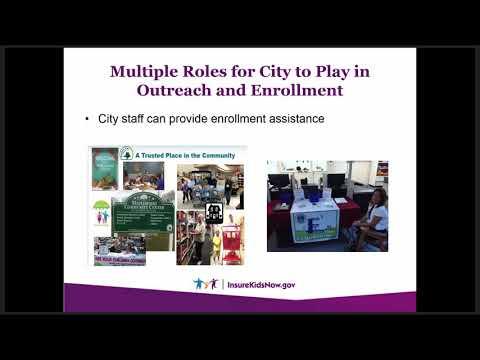 Webinar: Engaging Local Municipalities in Outreach & Enrollment Efforts (6/20/17)