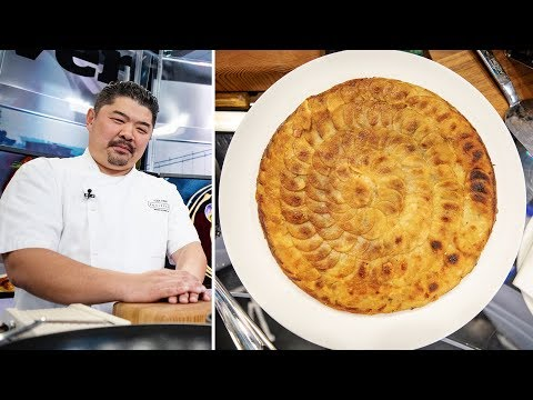 Chef Turns Potatoes Into Pommes Anna For Easter