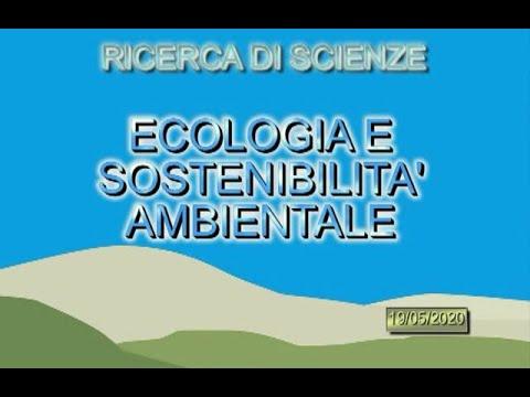 Ecologia e sostenibilità ambientale 1B