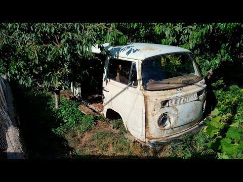 Volkswagen T2 find in Ujan (Armenia) /// PART 1