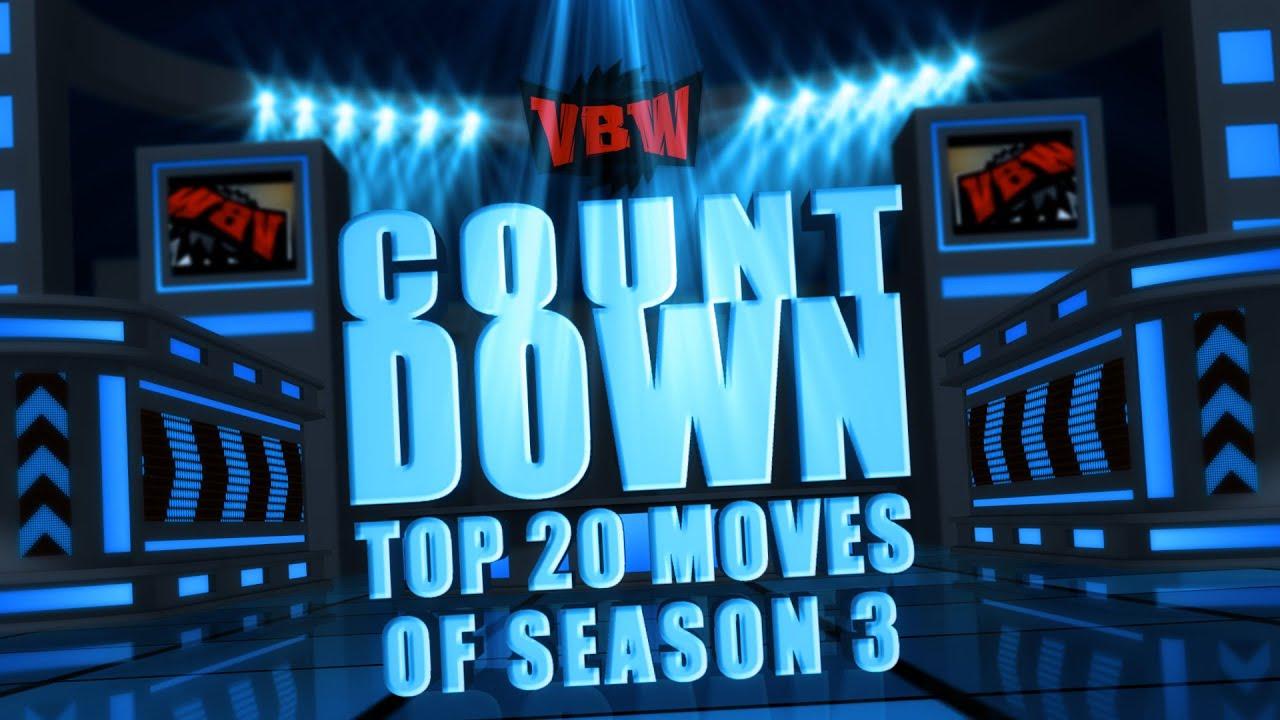 vbw countdown top 20 moves of season 3 backyard wrestling youtube