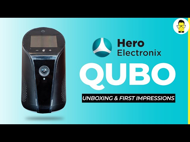 This indoor security camera is also an Alexa-enabled speaker | Qubo by Hero Electronix