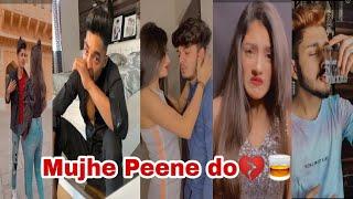 Mujhe peene do 💔🥃 trending Instagram reels || Darshan Raval Mujhe peene do song reels || breakup ||