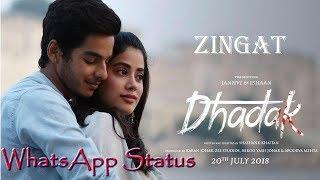 Zing Zing Zingaat Gujarati - Dhadak Movie - New Whatsapp Status 2018