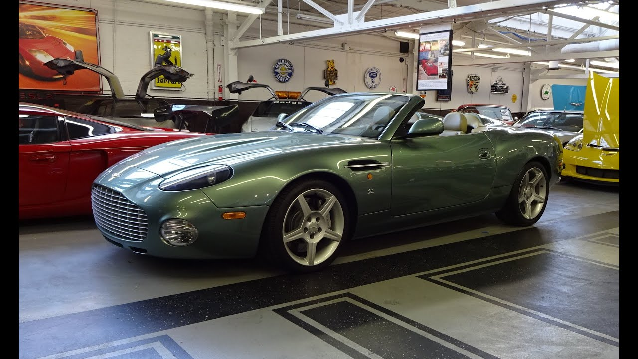 2003 aston martin db7 zagato db ar1 with engine start up on my car story with lou costabile