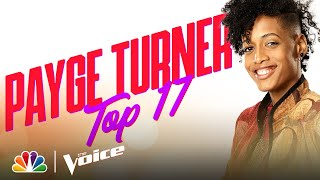 "Payge Turner Puts Her Spin on *NSYNC's ""It's Gonna Be Me"" - The Voice Live Top 17 Performances 2020"