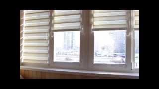 Балкон, законное переоборудование. Рулонные шторы. БАЛКОН-СИТИ