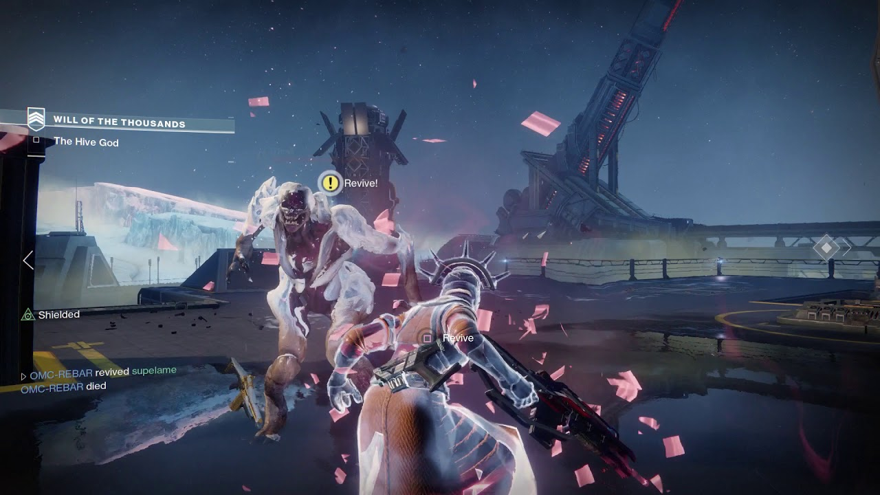 Destiny 2 Warmind 3 Guardians Defeat Hive God