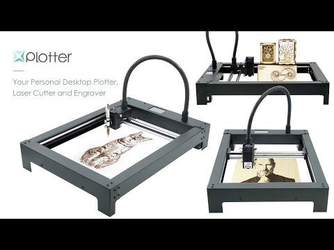 XPlotter - All-In-One Desktop Plotter, Laser Cutter and Engraver