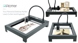 XPlotter - All-In-One Desktop Plotter, Laser Cutter and Engraver