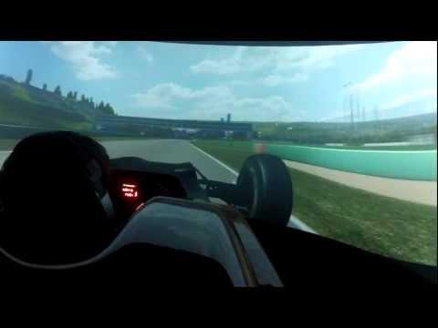 Simulatore Pro [ON BOARD] Marco Bonanomi - Audi Sport