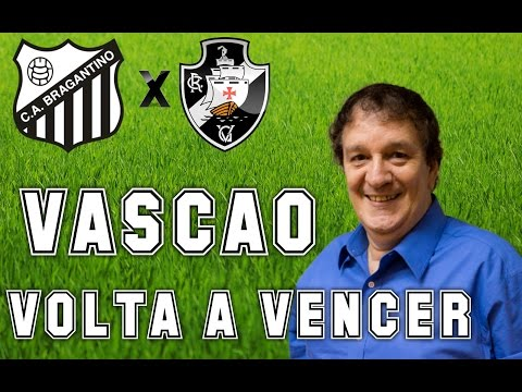 Gols De Bragantino 1 x 2 Vasco (Luiz Penido) Rádio Globo/CBN - Série B -12/11/2016