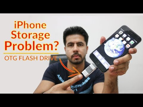 3 In 1 OTG Flash Drive For IPhone & Android, Flash Drive For Iphone Review In Urdu/Hindi