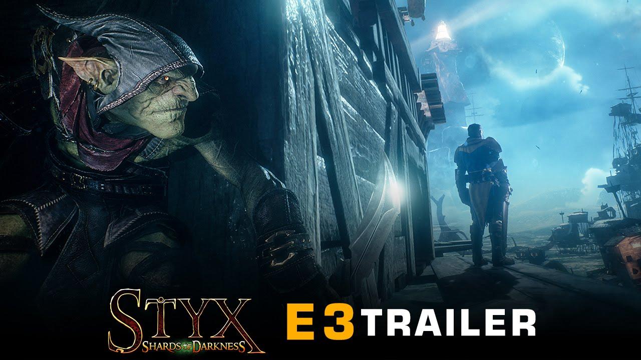 e3 2016 styx shards of darkness e3 trailer youtube