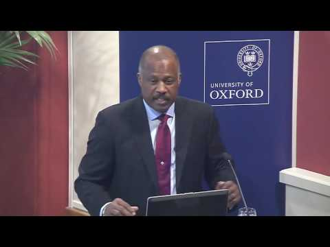 Professor Sir Hilary Beckles speaks about reparatory justice in at Oxford University