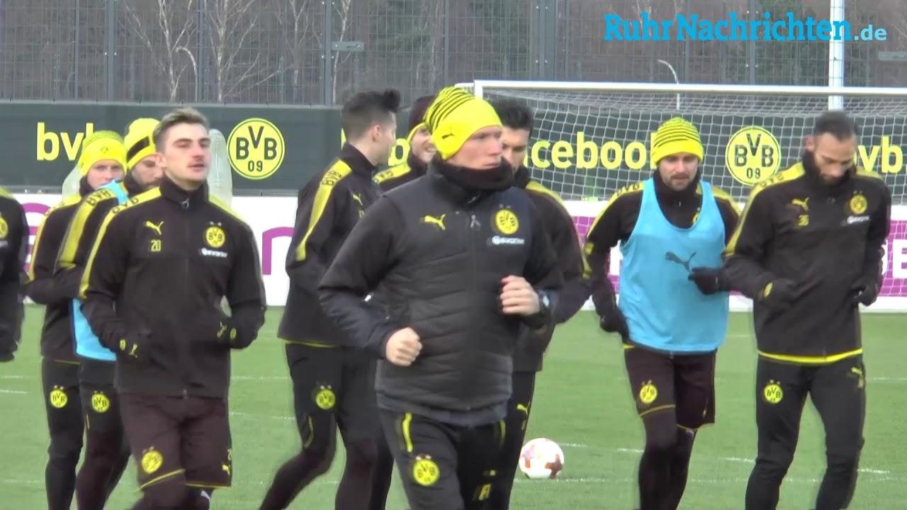 BVB-Training in Brackel am 12. Februar
