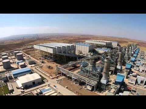 Al-Sulaymanyah Gas Power Station 1500MW In Chamchamal Iraq - Kurdistan Sgps