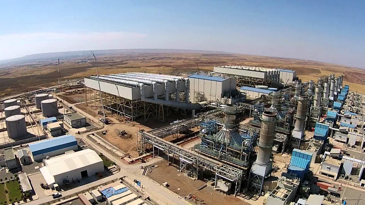 Al Sulaymanyah Gas Power Station 1500MW In Chamchamal Iraq