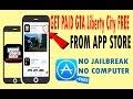 Get GTA Liberty City Stories FREE from App Store No Jailreak iOS 10 iPhone iPad (APPLE ID)