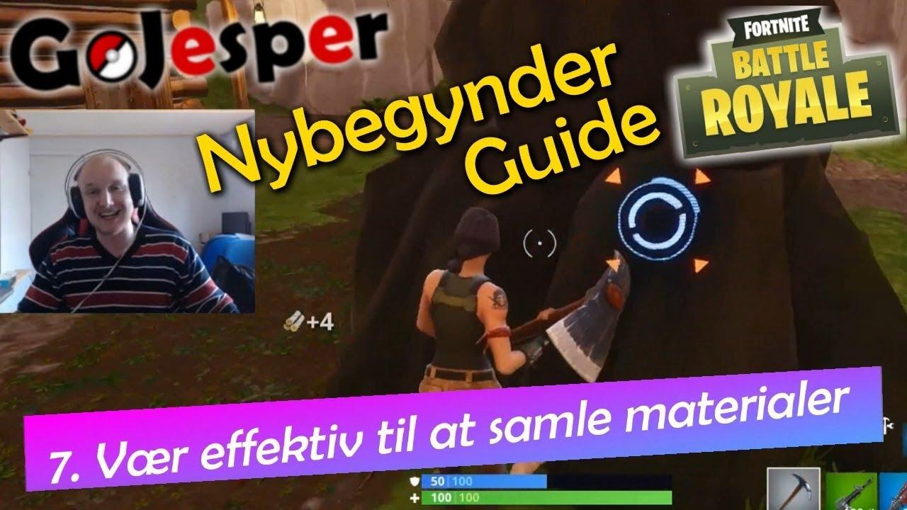 Dansk Nybegynder Guide til Fortnite Battle Royale